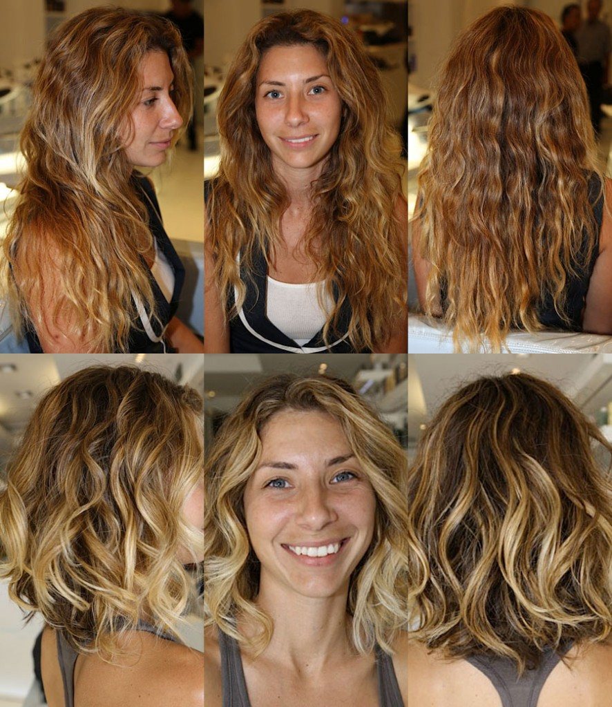 Before and After: Beautiful Curly Beachy Hair - Ramirez | Tran Salon