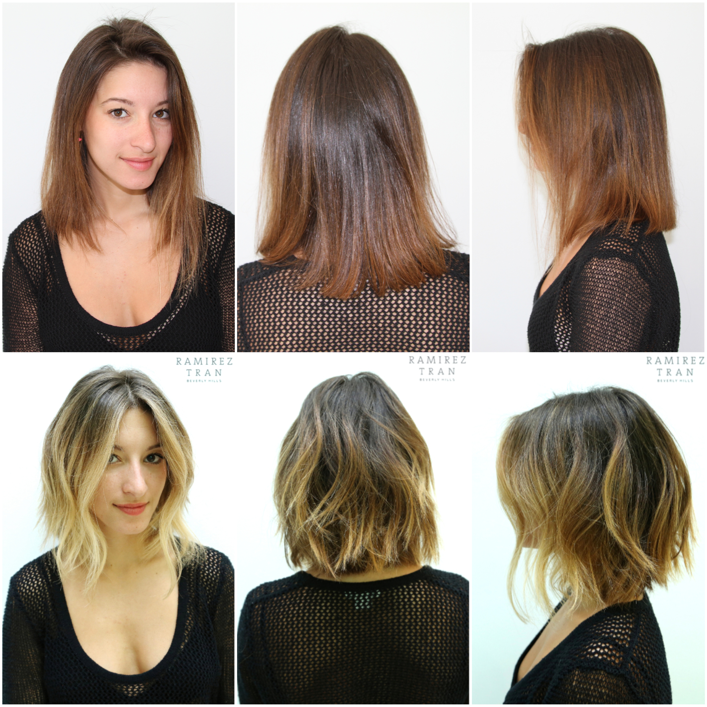 Before and after archives page 32 of 65 ramirez tran salon from plain and slightly too red to stunning sunkissed brunette johnny gave her a natural looking color with face framing highlights pmusecretfo Image collections