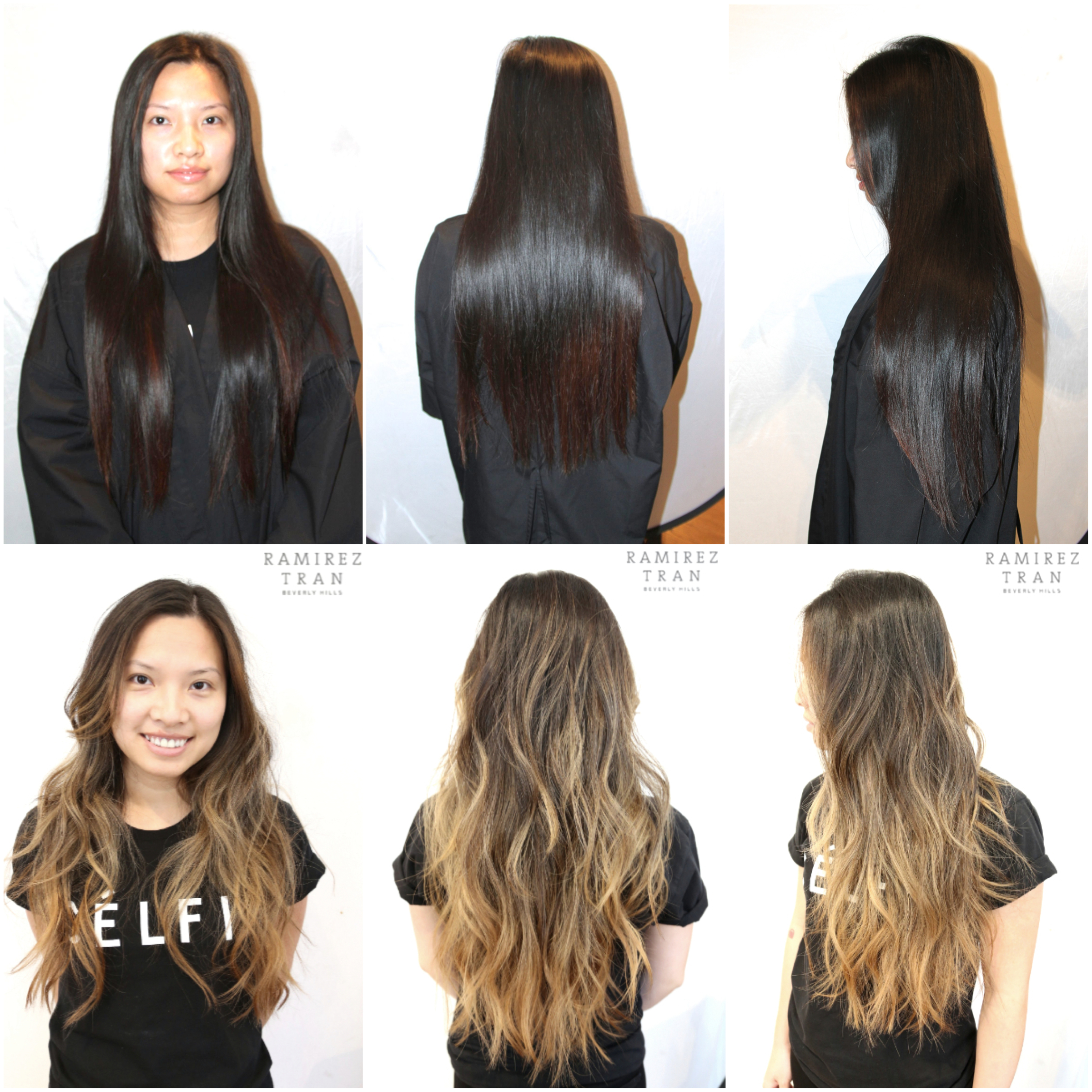 California Style Hair Color Cool All Done In One Day  The Salon In Nyc  Ramirez  Tran Salon