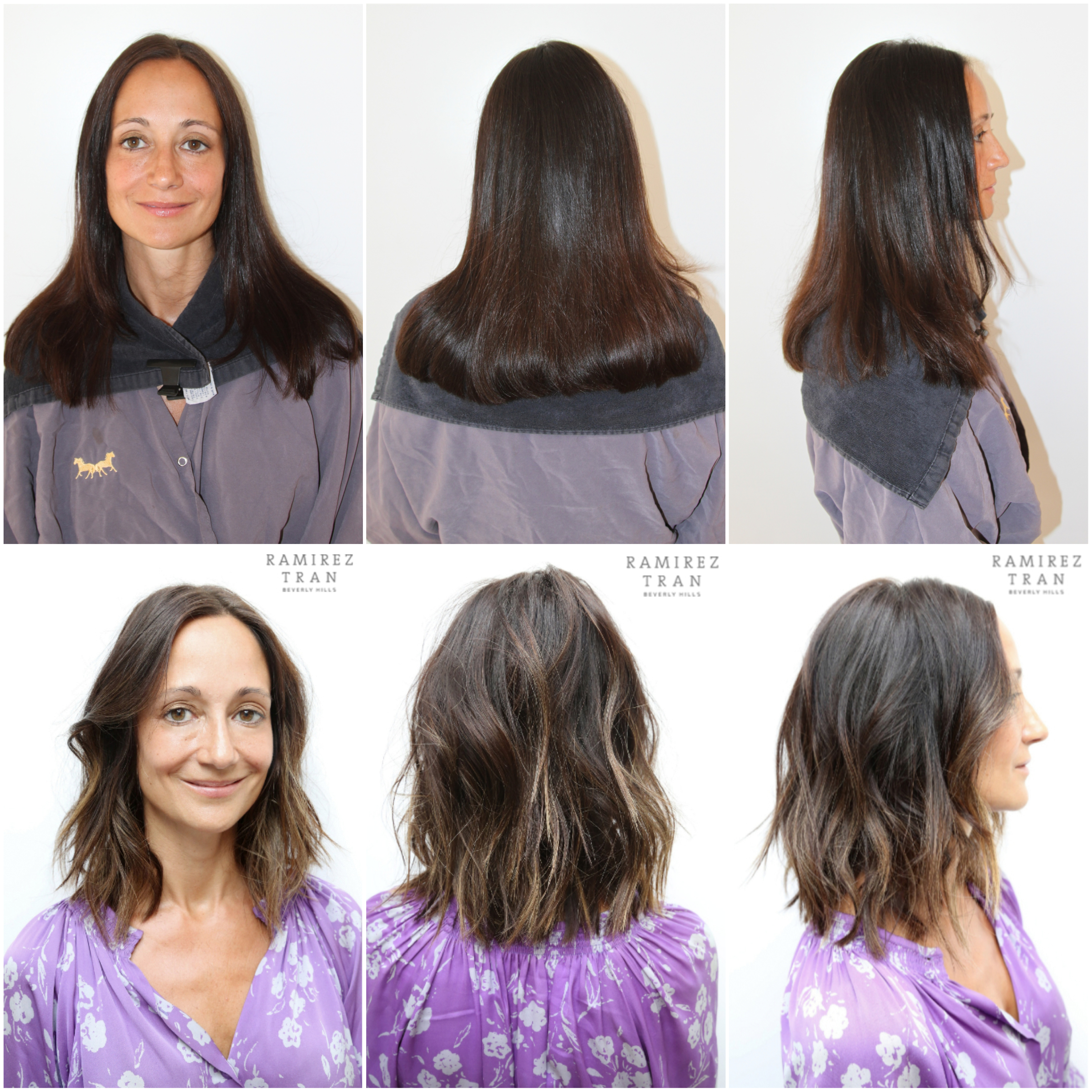 Before and after archives page 26 of 65 ramirez tran salon this client came in and wanted to make a few small changes with us johnny added very minimal highlights throughout her ends that brightened her overall pmusecretfo Images
