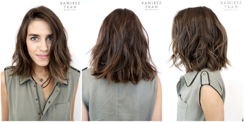 Barely There Sunkissed Highlights Long Bob Ramirez Tran Nyc ...