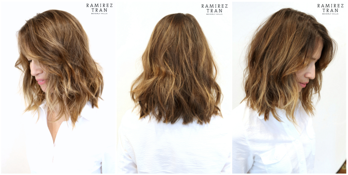 how to cut a layered lob