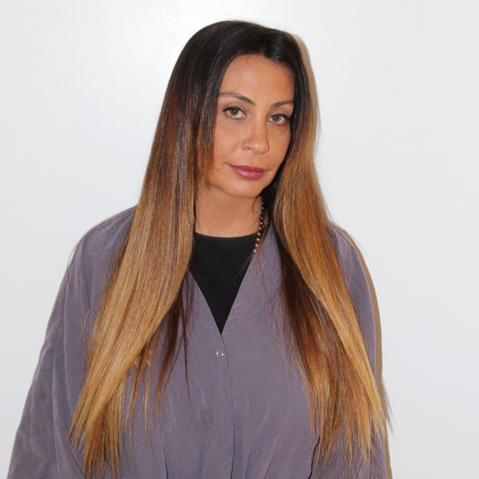 Brunette blonde ramirez tran salon for 3 brunettes and a blonde salon